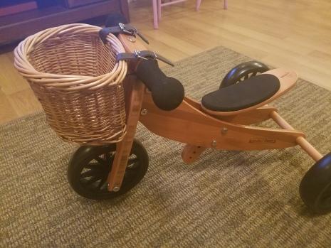 Kinderfeets: Tiny Tot Bamboo with Basket