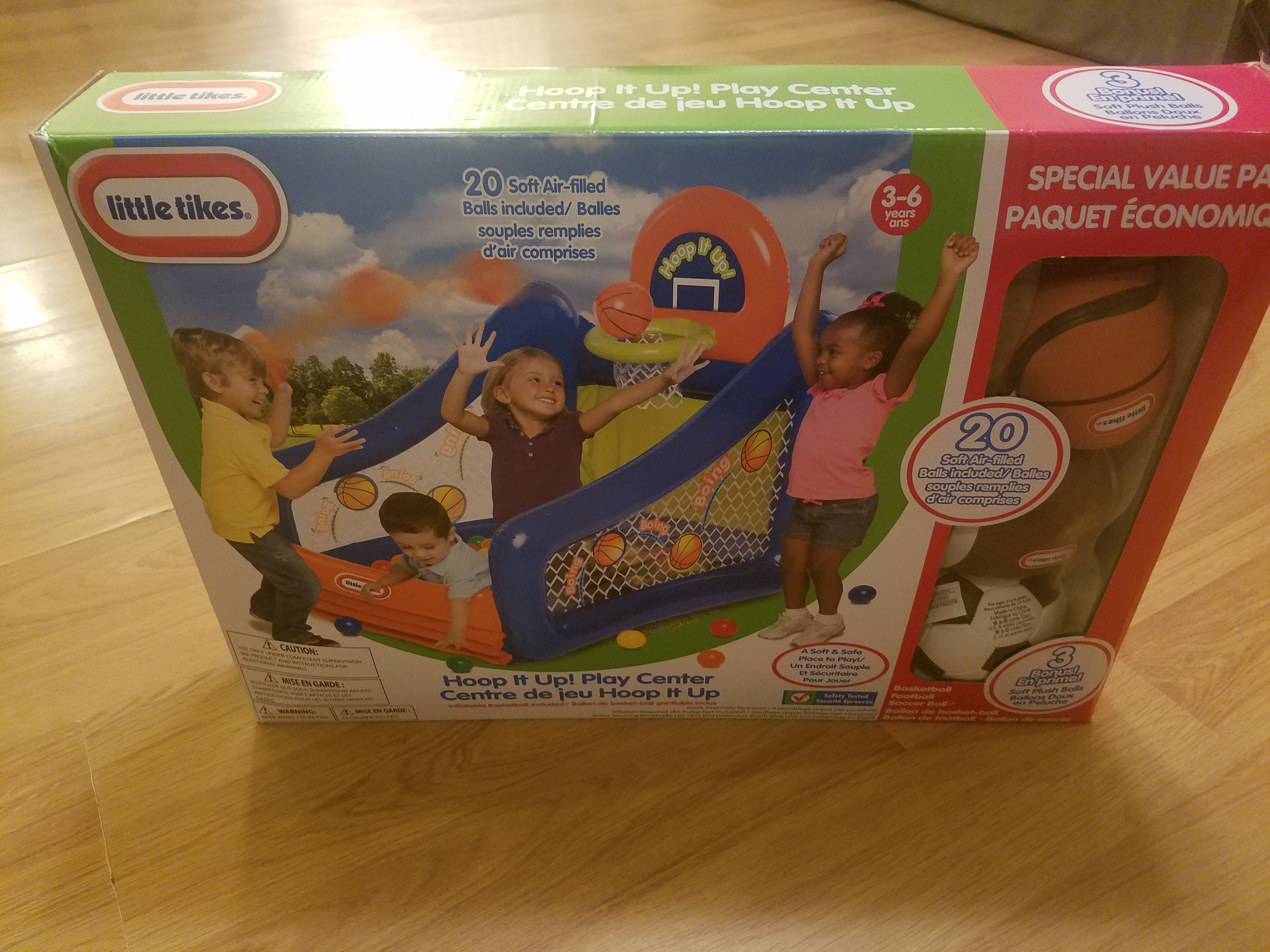 Little Tikes Hoop It Up! Play Center – Momma\'s Little Reviews ...