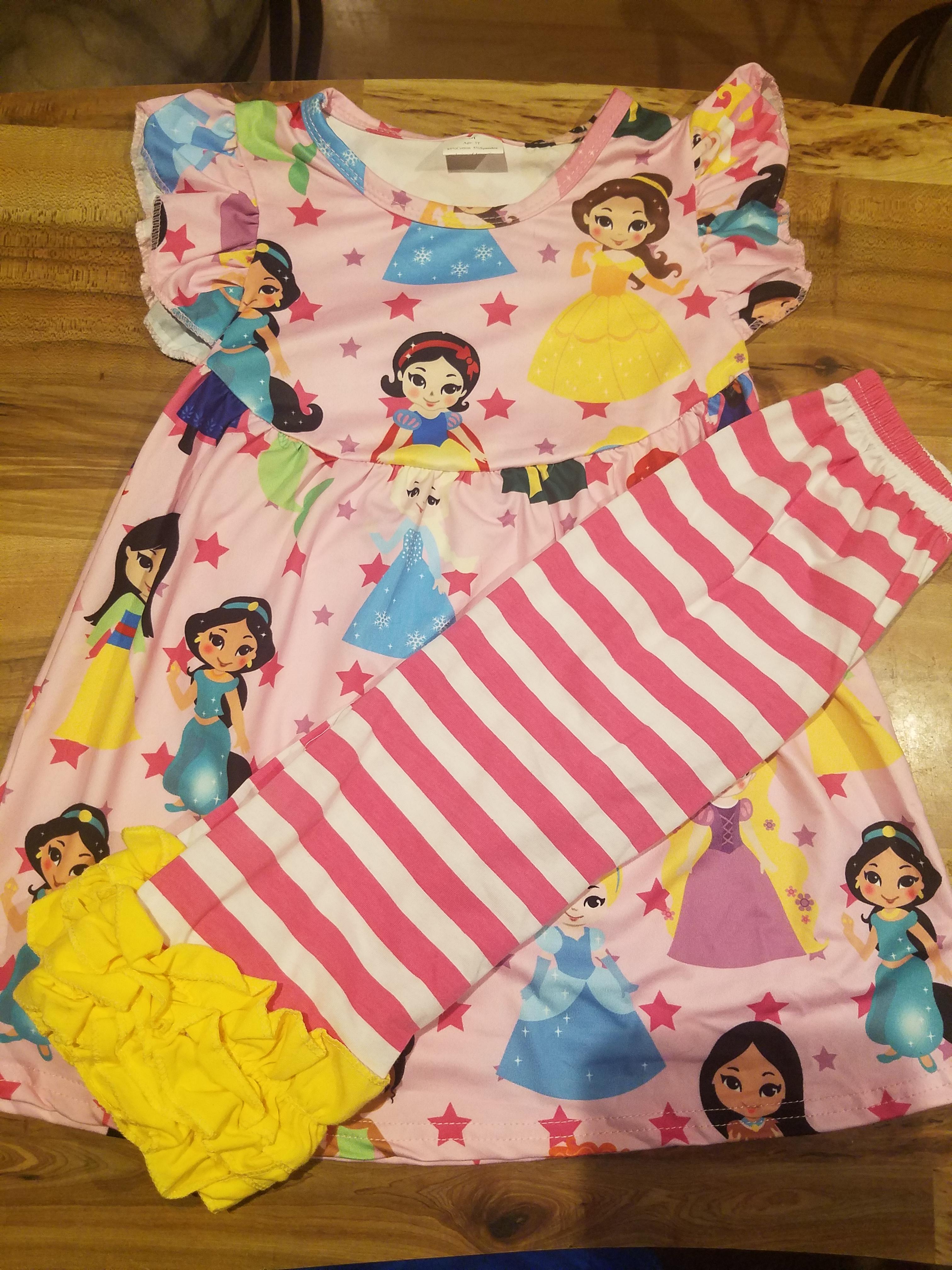 3e165ee9c0069 Disney Princess Dress & Icing Capri Set from Adore Me Kids – Momma's ...