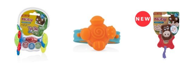 Train Nuby Vibe N Teethe Vibrating Wristband Teether