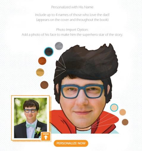 Super Dad Photo Personalization